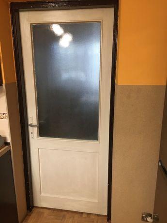 Drzwi drewniane 80 4szt.