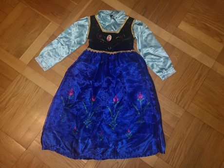 Sukienka księżniczki Anny z Krainy Lodu Anna, Frozen roz.122-140 cm