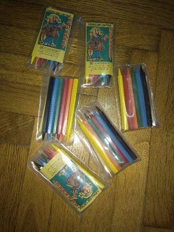 Олівці кольорові набір 6шт карандаши цветные набор нові радянські ссср