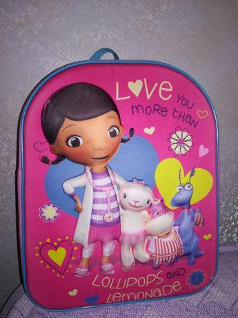 Рюкзак, сумка Доктор Плюшева