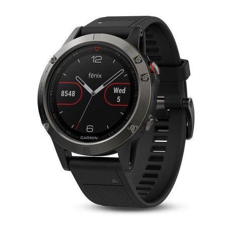 Спортивные часы Garmin fenix 5 Slate Gray with Black Band