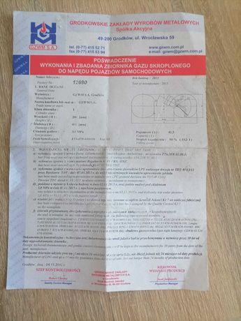 Dokumenty na gaz LPG