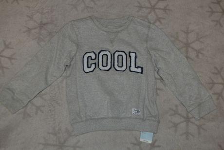 новый свитшот свитер Mothercare на 5-6 лет рост 110-116 Англия