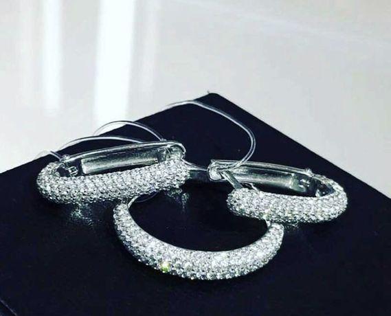 Золотое кольцо с бриллиантами дорожка 0.31ct золото 585 бриллианты