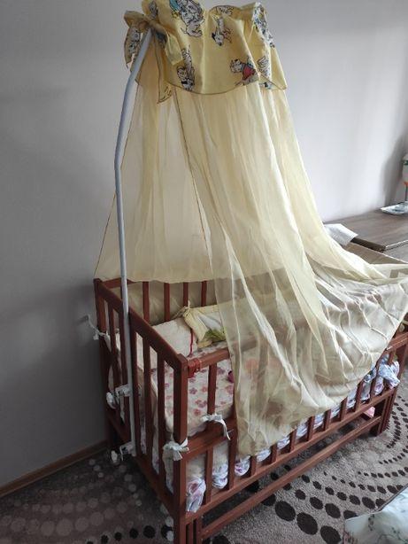Балдахін для ліжечка ( повний комплект )