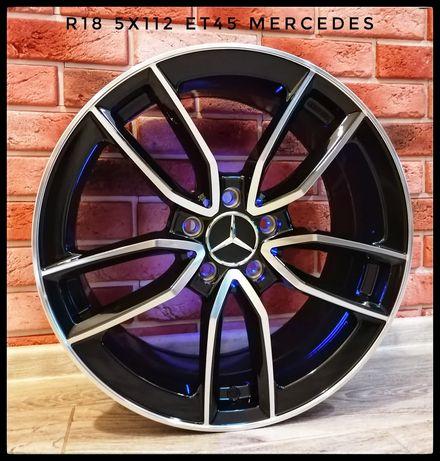 R18 5x112 Mercedes A B C M ML CLS W SLC SLK GLC GLE