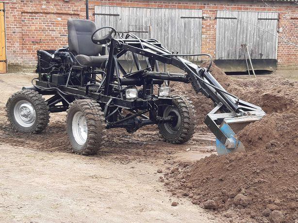 Ładowarka 4x4 traktor sam