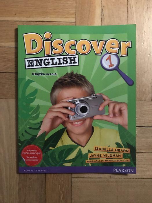 Discover english nowa 1 pearson książka ucznia Hearn Kraków - image 1