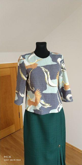 Bluzka H&M Ptaki Rozm.38