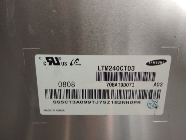 Матрица LTM240CT03 с t-conom