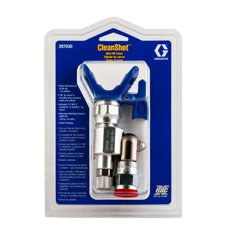Graco CleanShot Клиншот. Clean Shot для работы с трубками удлинителями