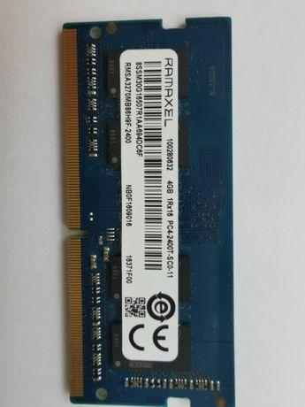 Оперативная память для ноутбука Ramaxel SODIMM DDR4 4Gb 2400MHz 19200S