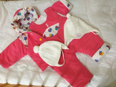 теплая одежда на 3-9 месяцев