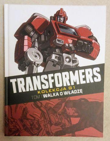 Transformers - Kolekcja G1 - Tom 1. Walka o władzę - JAK NOWY