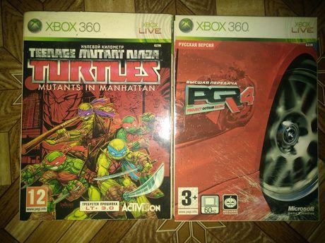 Игры xbox 360 lt 1,9 и lt 3,0 sniper, черепашки ниндзя