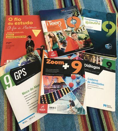 Cadernos de Atividade, 9º Ano