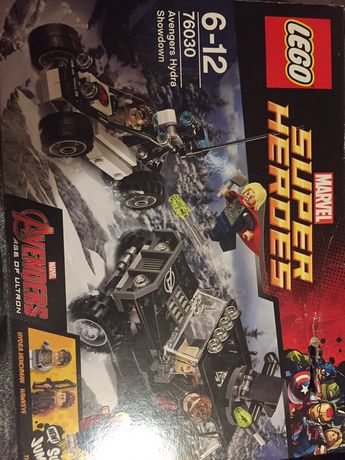 Lego super Heroes marvel 76030