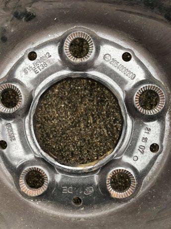 """Jantes 16 """" polegadas de ferro originais Mercedes ideal suplente"""