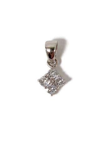 Wyrób jubilerski używany - srebrna zawieszka 925