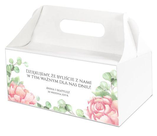 Pudełka na ciasta weselne