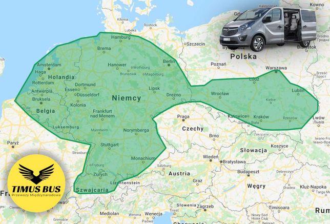 BUSY DO NIEMIEC Busy Polska Niemcy CAŁE ŁÓDZKIE przewozy do Niemiec