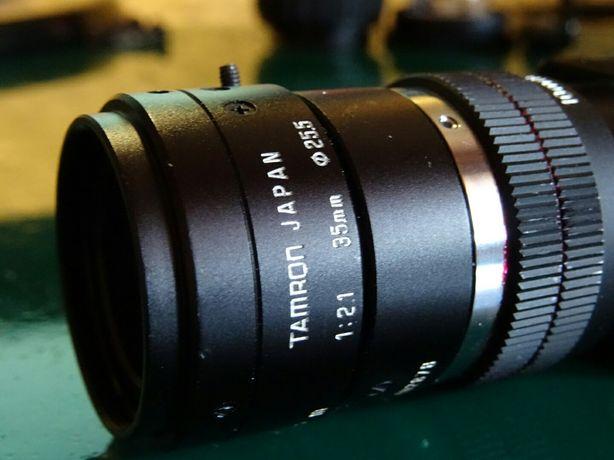 Kamera CCD Sony XC-ES50CE + obiektyw Tamron