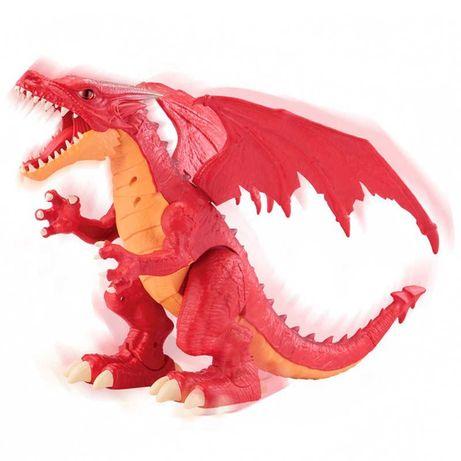 Интерактивная игрушка ROBO ALIVE Огненный Дракон 7115R