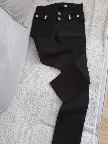 Czarne spodnie elite s