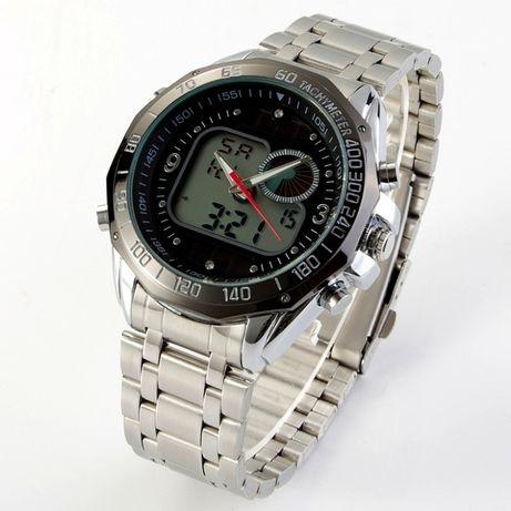 Мужские спортивные часы HPOLW армия (G-Shock) ВОДОСТОЙКИЕ наручные