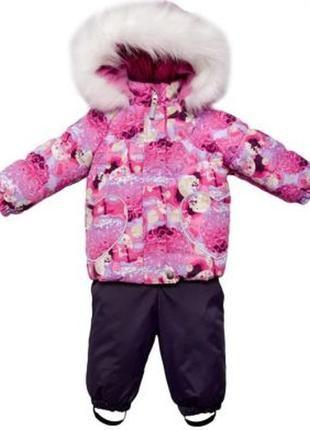 Зимний комплект lenne. ленне. куртка . полукомбинезон. .92+6 см