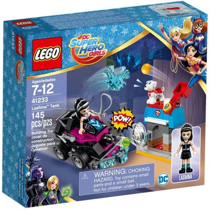 Klocki LEGO DC Super Hero Girls 41233 Lashina i jej pojazd Luboń - image 1