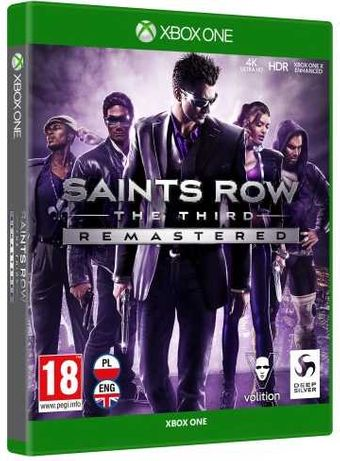 Sprzedam grę Saints Row The Third Xbox One/X Nowa