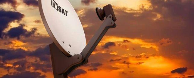Montaż anten satelitarnych i naziemnych, ustawienie sygnału, serwis.