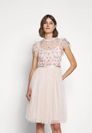 Sukienka damska, koktajlowa - NEEDLE&THREAD - r.36
