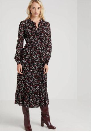 Michael Kors sukienka MIDIRUFFLE Dutti