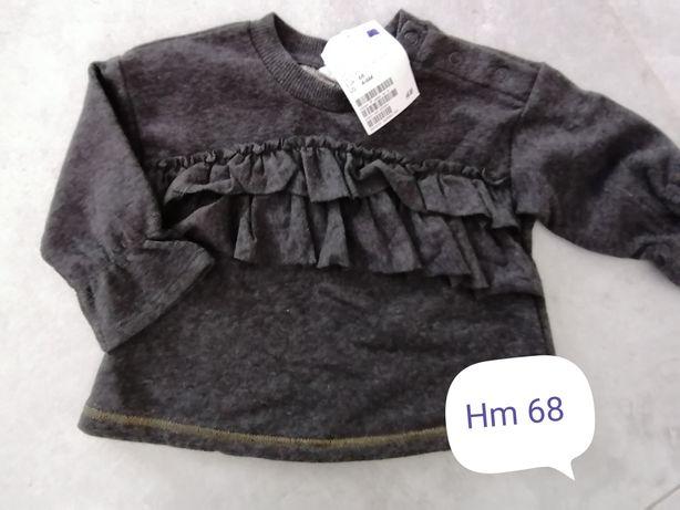 Nowy sweterek HM z metka 68