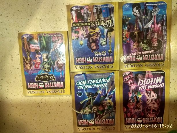 Kolekcja Monster High DVD