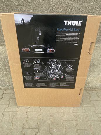 Bagażnik Rowerowy Thule EuroWay G2 922 Black Edition 3 rowery na hak