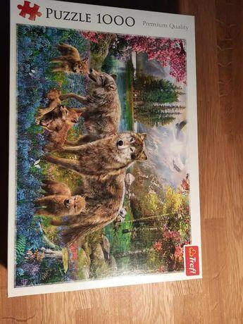 Puzzle 1000 Trefl Wilki