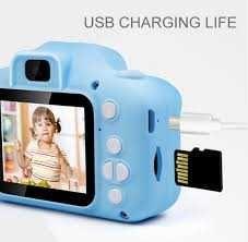 Противоударный цифровой детский фотоаппарат
