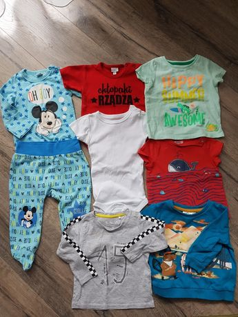 Ubranka dla chłopca 62-86
