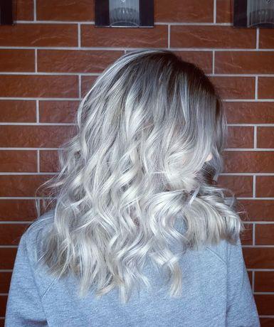 Профессиональное окрашивание волос.