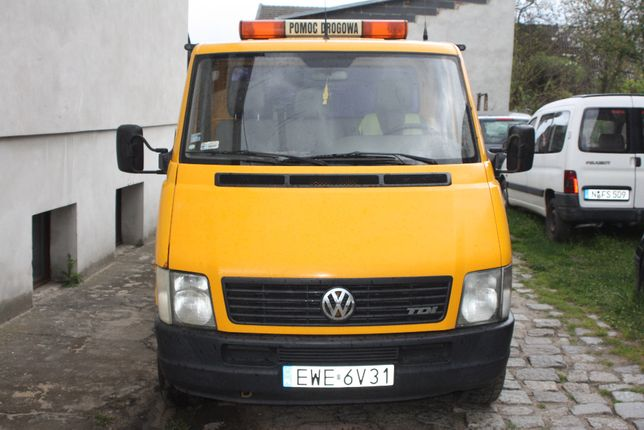 VW LT35 Autolaweta Najazd 2.5TDI Klima Tempomat Abs EL-Szyby