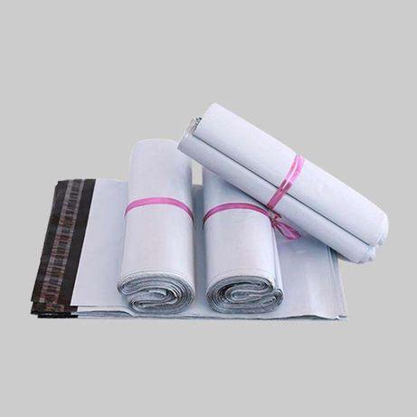 5pcs Sacos Envelopes Brancos Resistentes ao transporte