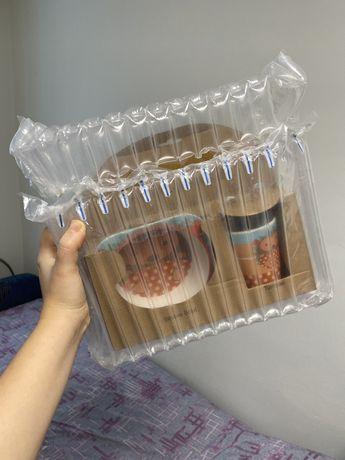 набор посуды для ребенка bamboo