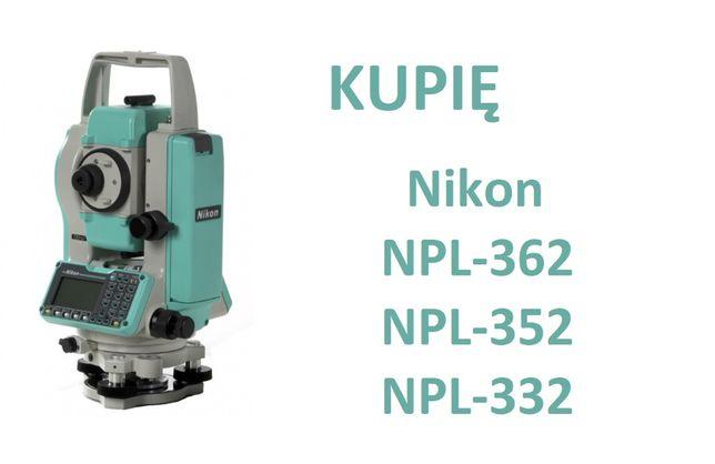Tachimetr Nikon z serii 352 362 NPL 332 322