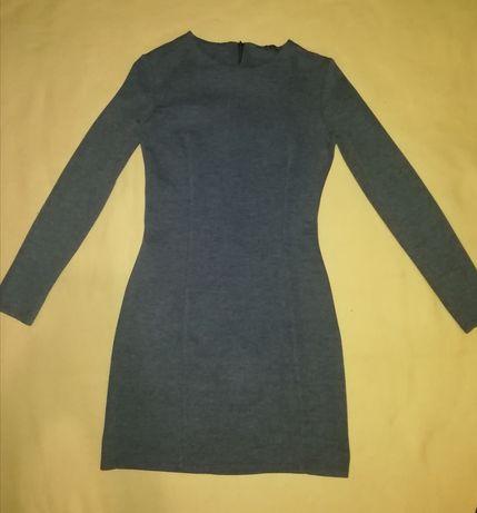 Трикотажное платье Zara, размер 42-44