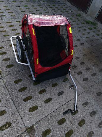 Przyczepka rowerowa infantastic 2os.
