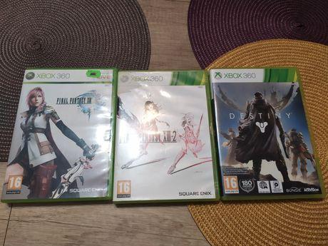Zestaw gier Xbox 360 final fantasy destiny