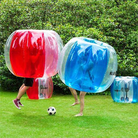 Kula dmuchana do piłki nożnej bubble ball Klarstein NOWA 150cm